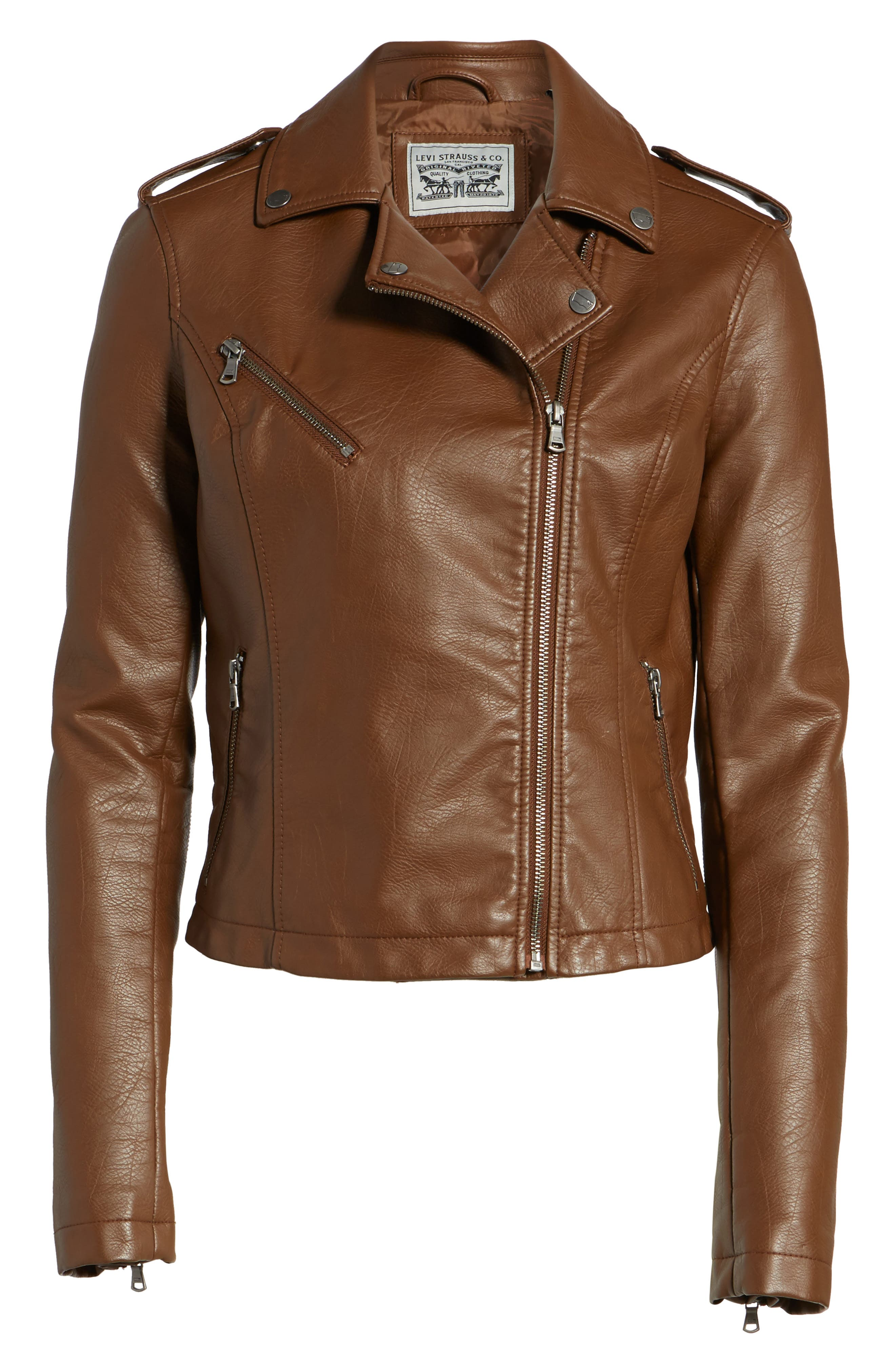 ,                             Faux Leather Moto Jacket,                             Alternate thumbnail 31, color,                             239