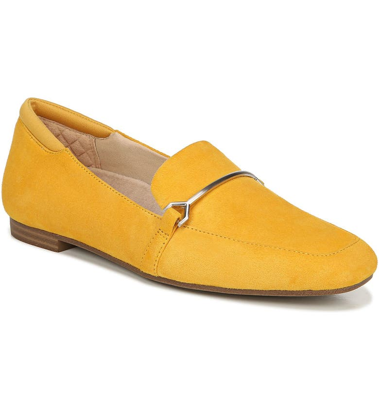DR. SCHOLL'S Dr. Scholls Mercury Loafer, Main, color, GOLDEN YELLOW LEATHER