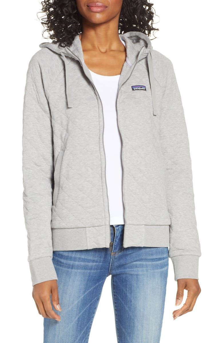 Organic Cotton Blend Quilted Hoodie by Patagonia