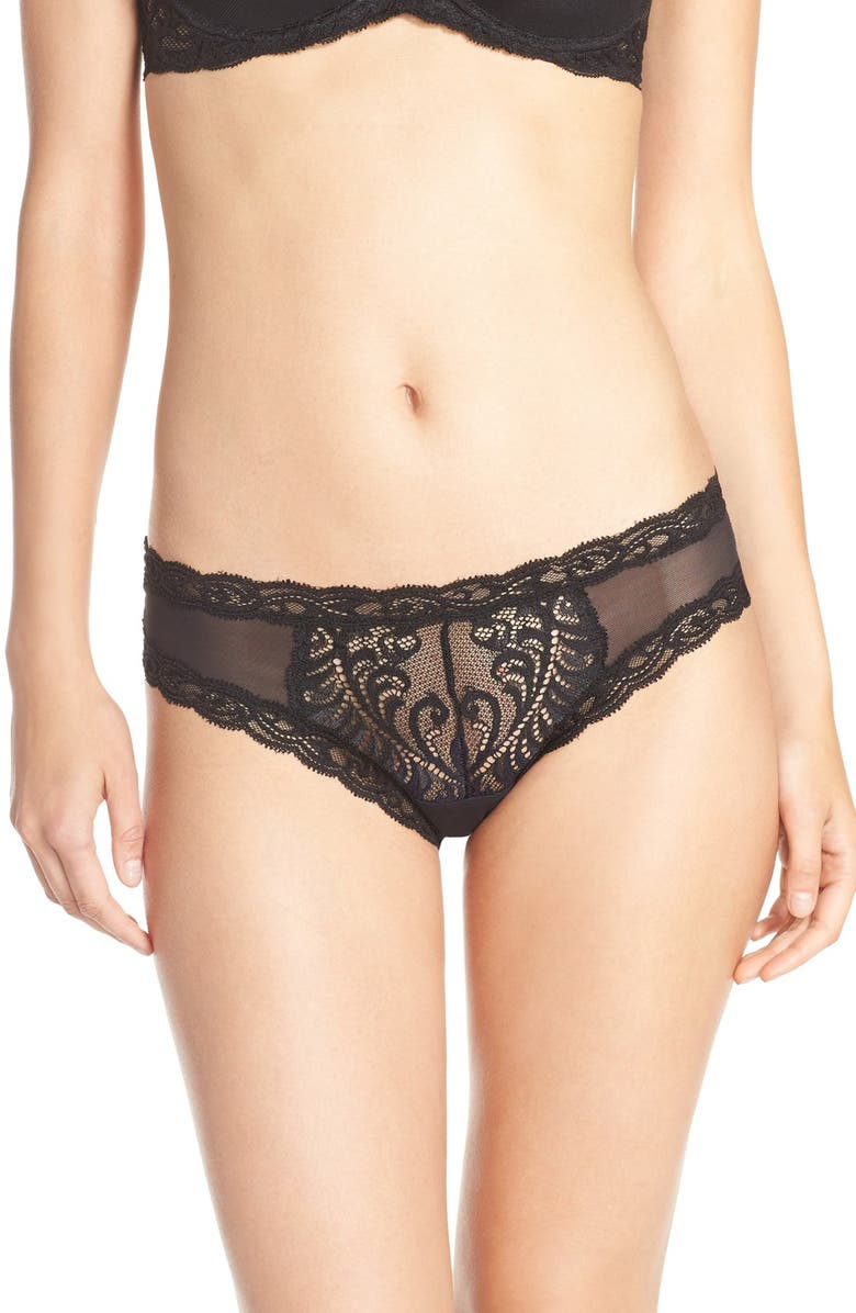 NATORI Feathers Hipster Briefs, Main, color, 001