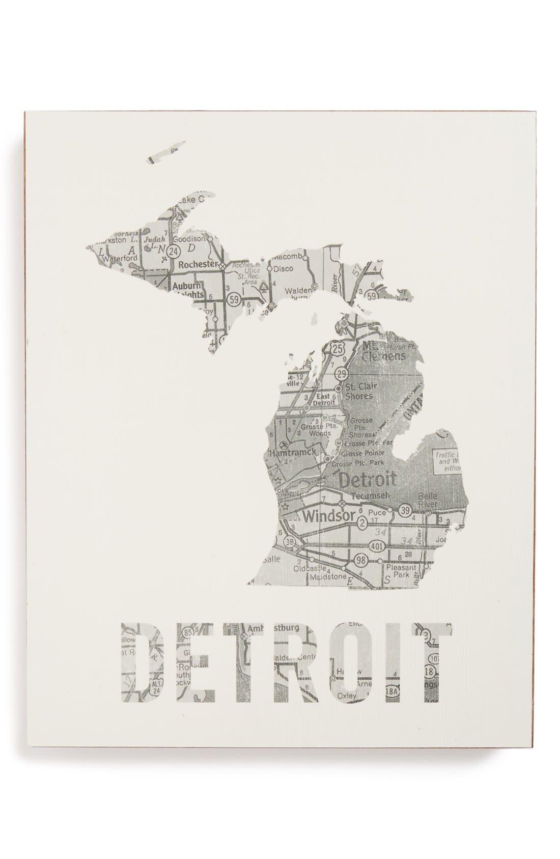 ,                             City Map Wall Art,                             Main thumbnail 15, color,                             034