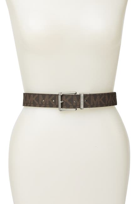 Image of Michael Kors Reversible Logo Belt