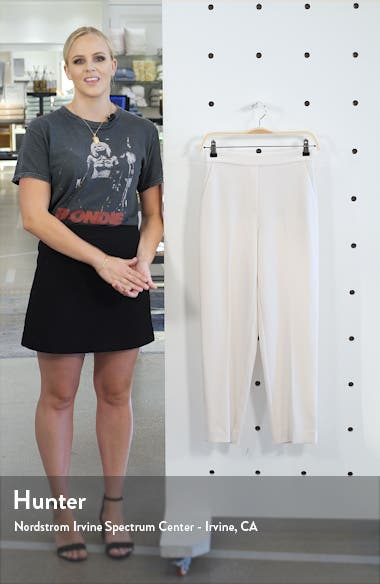 Flat Front Crepe Trousers, sales video thumbnail