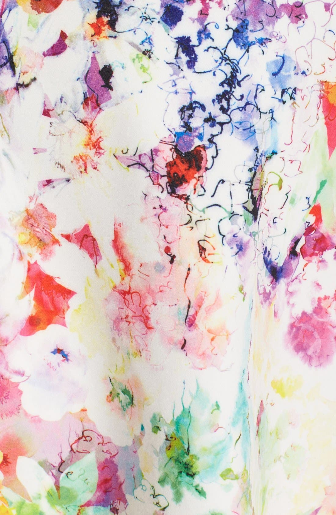 ,                             Bianca Back Cutout Fit & Flare Dress,                             Alternate thumbnail 71, color,                             663