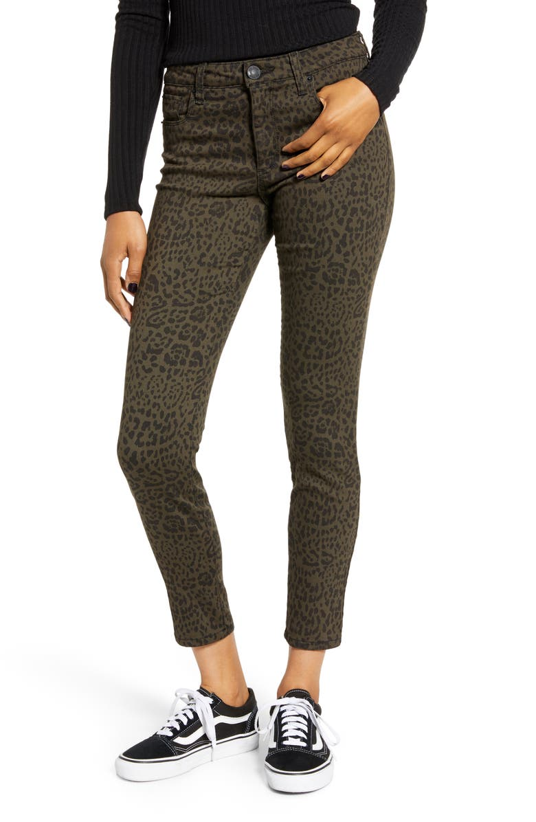STS BLUE Ellie High Waist Crop Jeggings, Main, color, 300