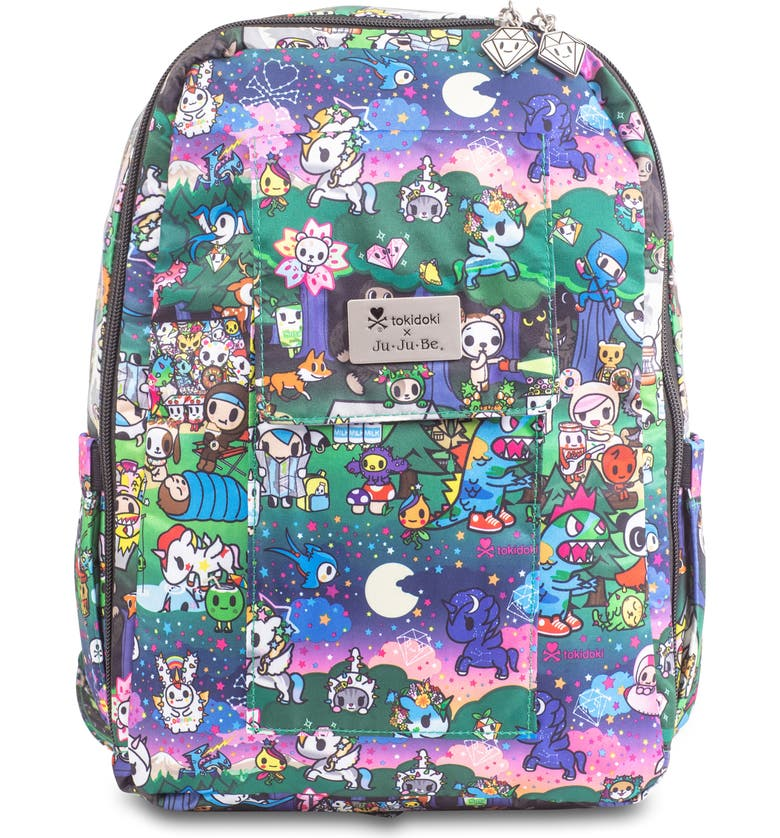 JU-JU-BE Mini Be - Onyx Collection Backpack, Main, color, CAMP TOKI