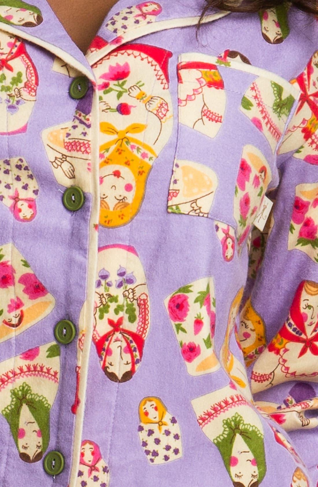 ,                             Flannel Pajamas,                             Alternate thumbnail 66, color,                             540