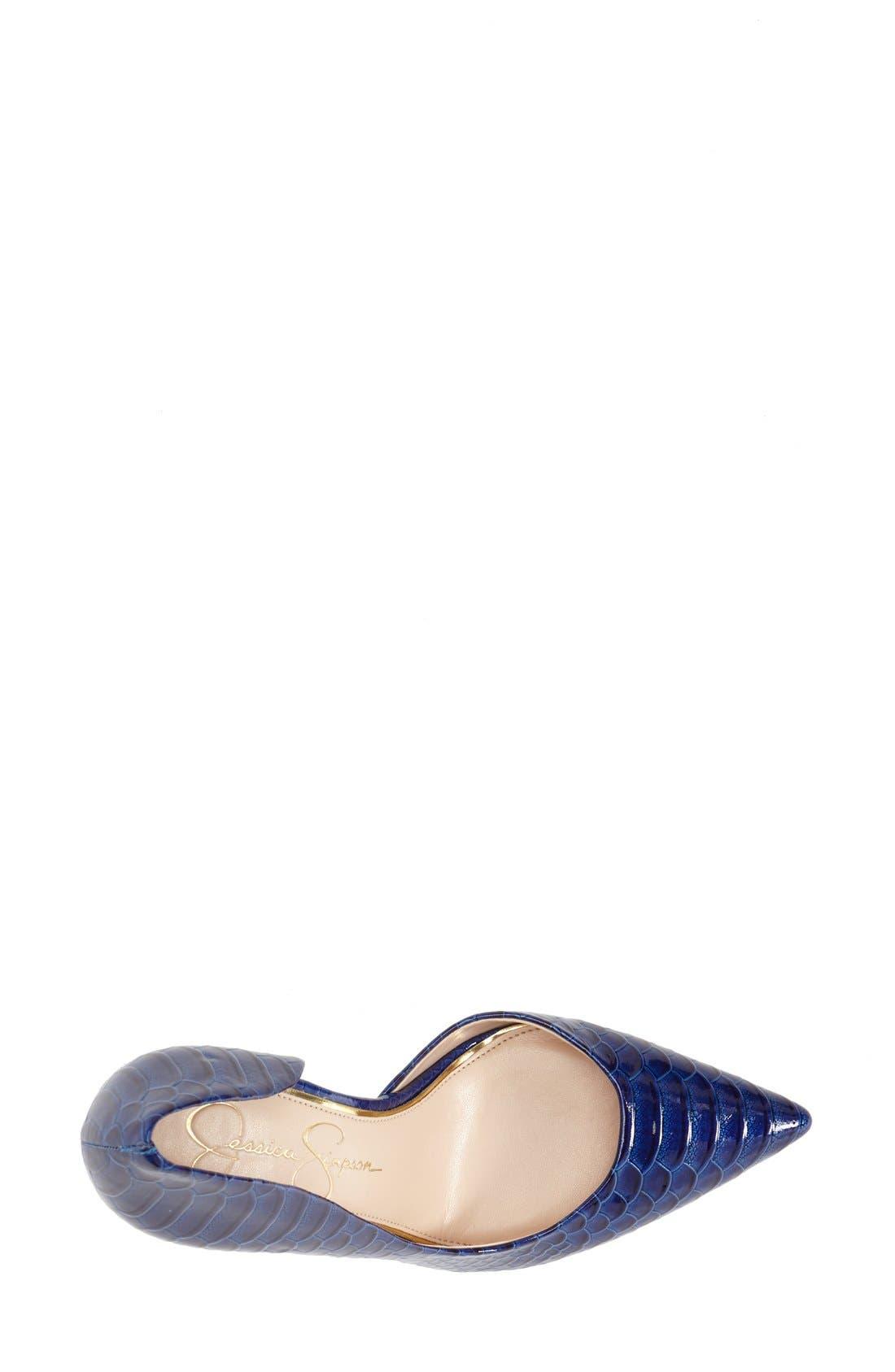 ,                             'Claudette' Half d'Orsay Pump,                             Alternate thumbnail 173, color,                             405