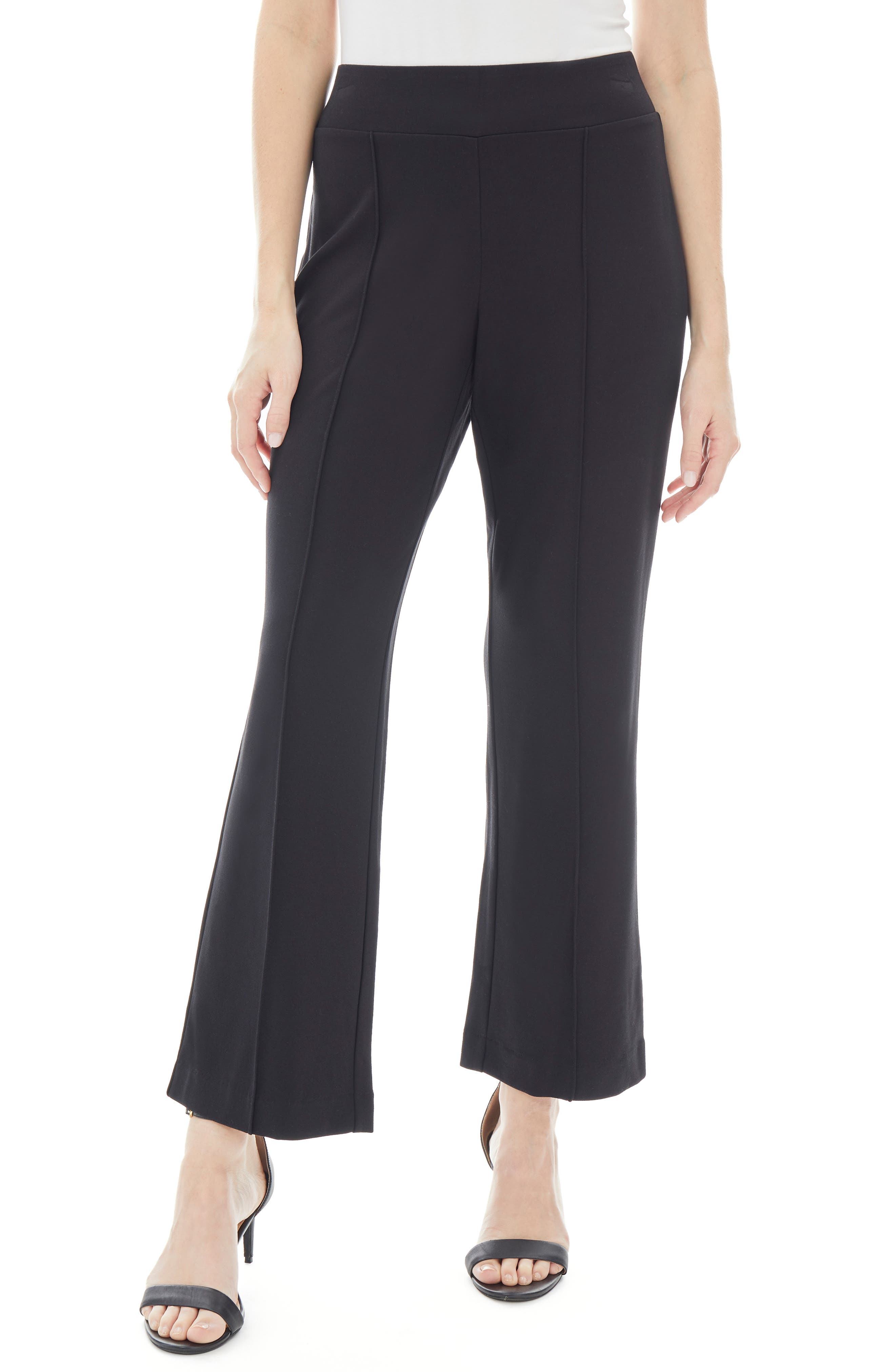 Pintuck Pull-On Trousers