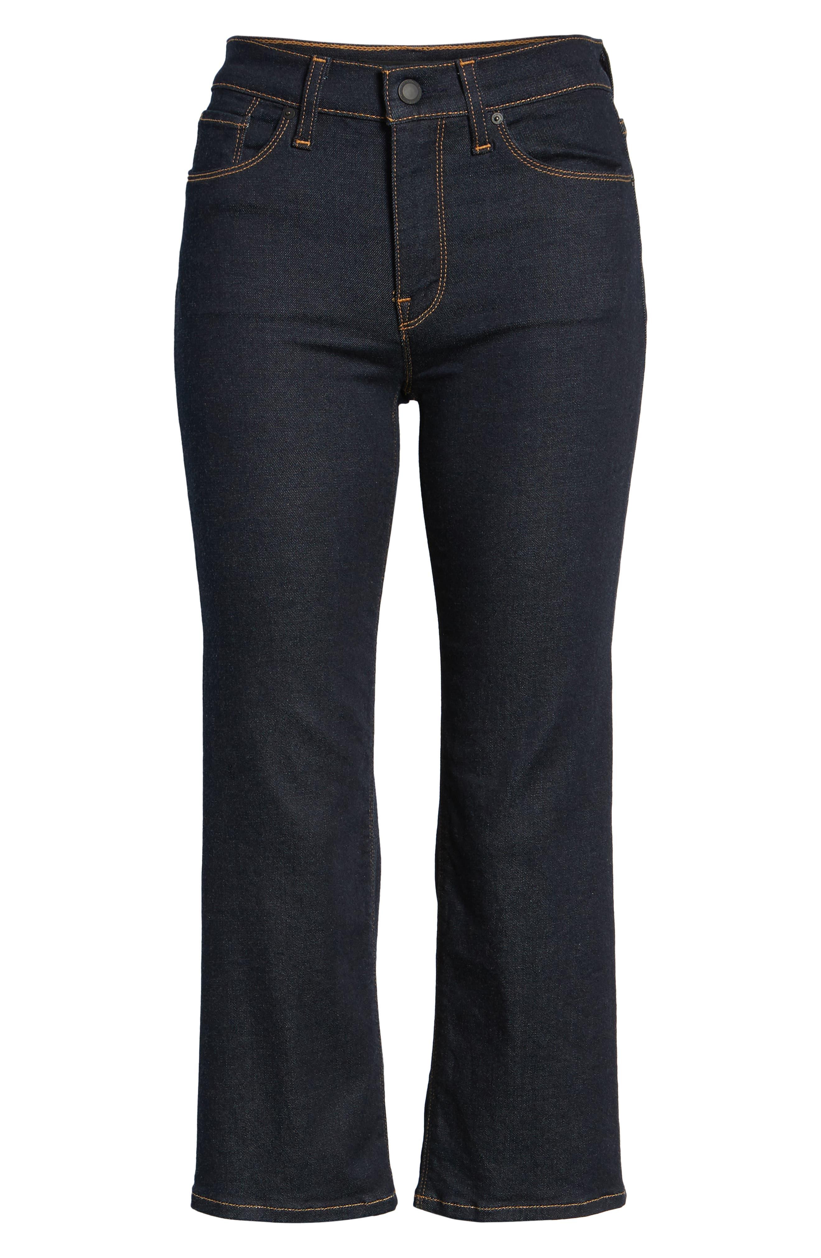 ,                             Stella Crop Straight Leg Jeans,                             Alternate thumbnail 7, color,                             402