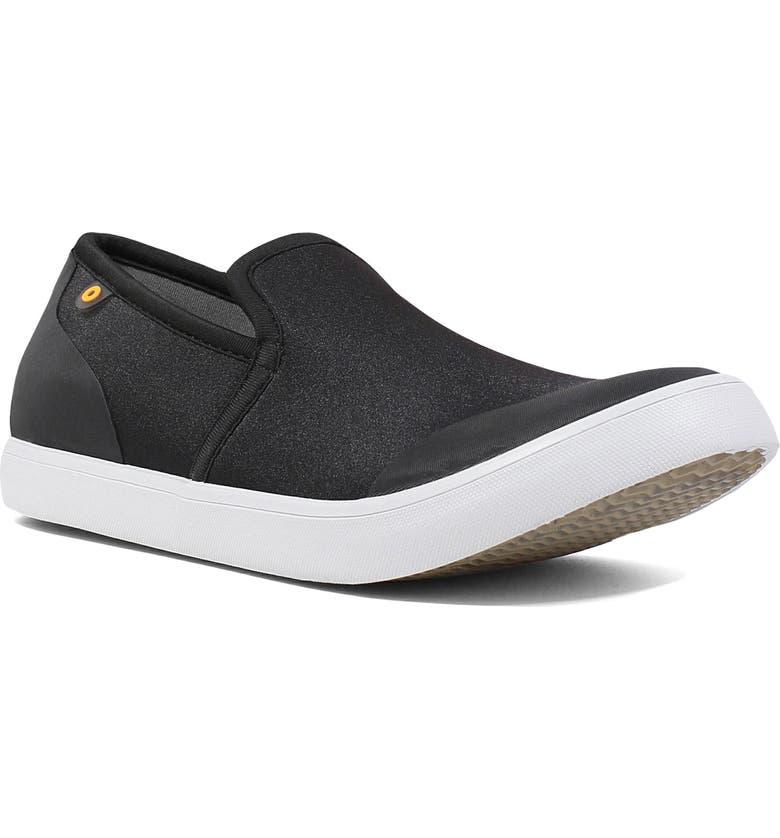 BOGS Kicker Water Resistant Loafer, Main, color, BLACK