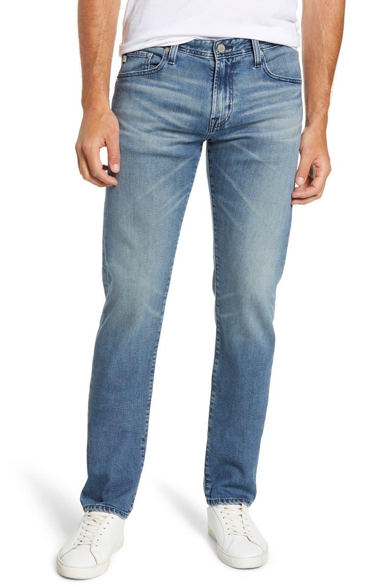AG Tellis Slim Fit Jeans, Main, color, 457