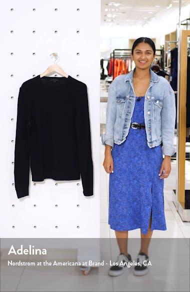 Davidson Regular Fit Cotton Crewneck Sweater, sales video thumbnail