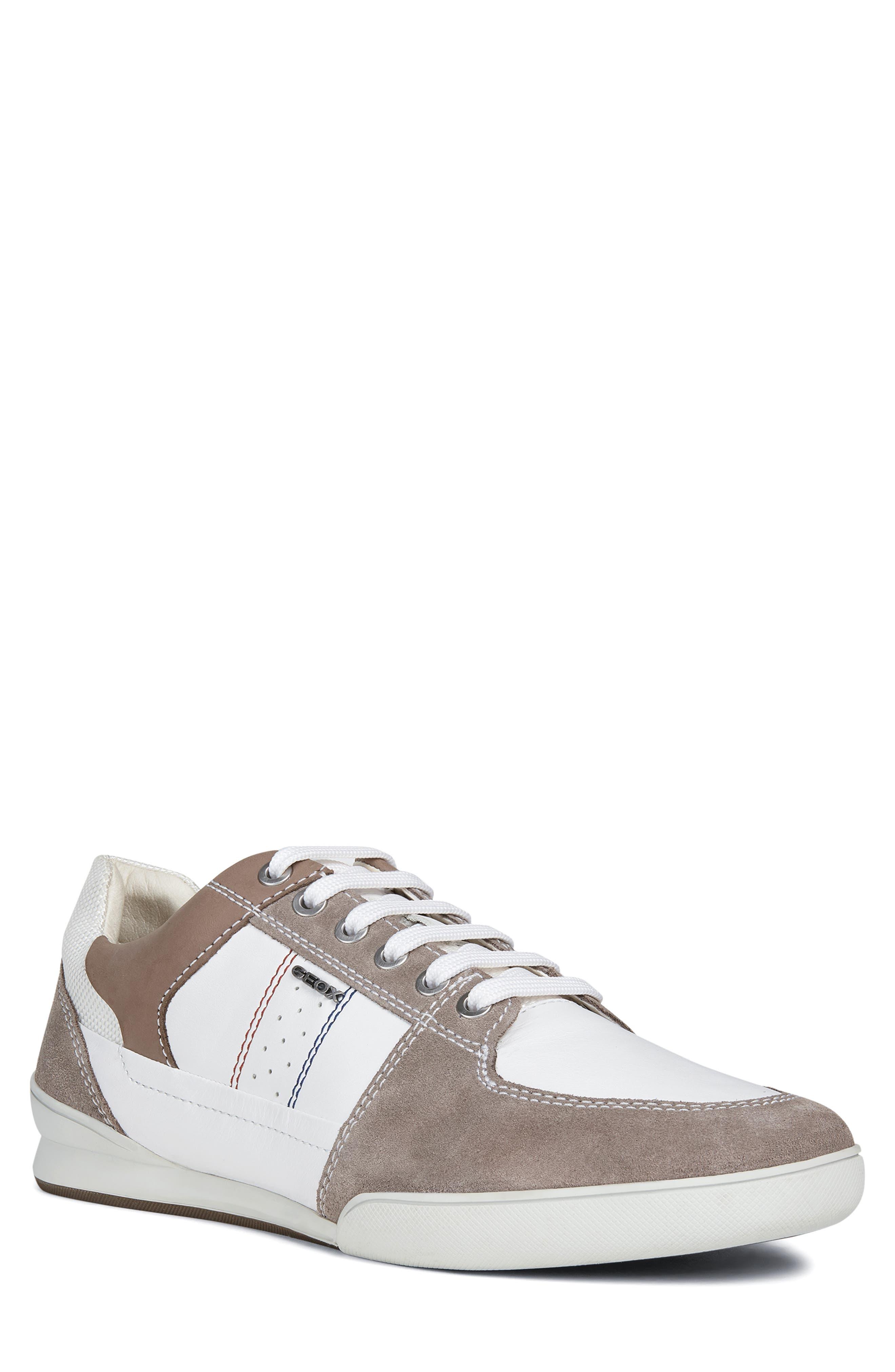 Geox Kristof 11 Sneaker, White