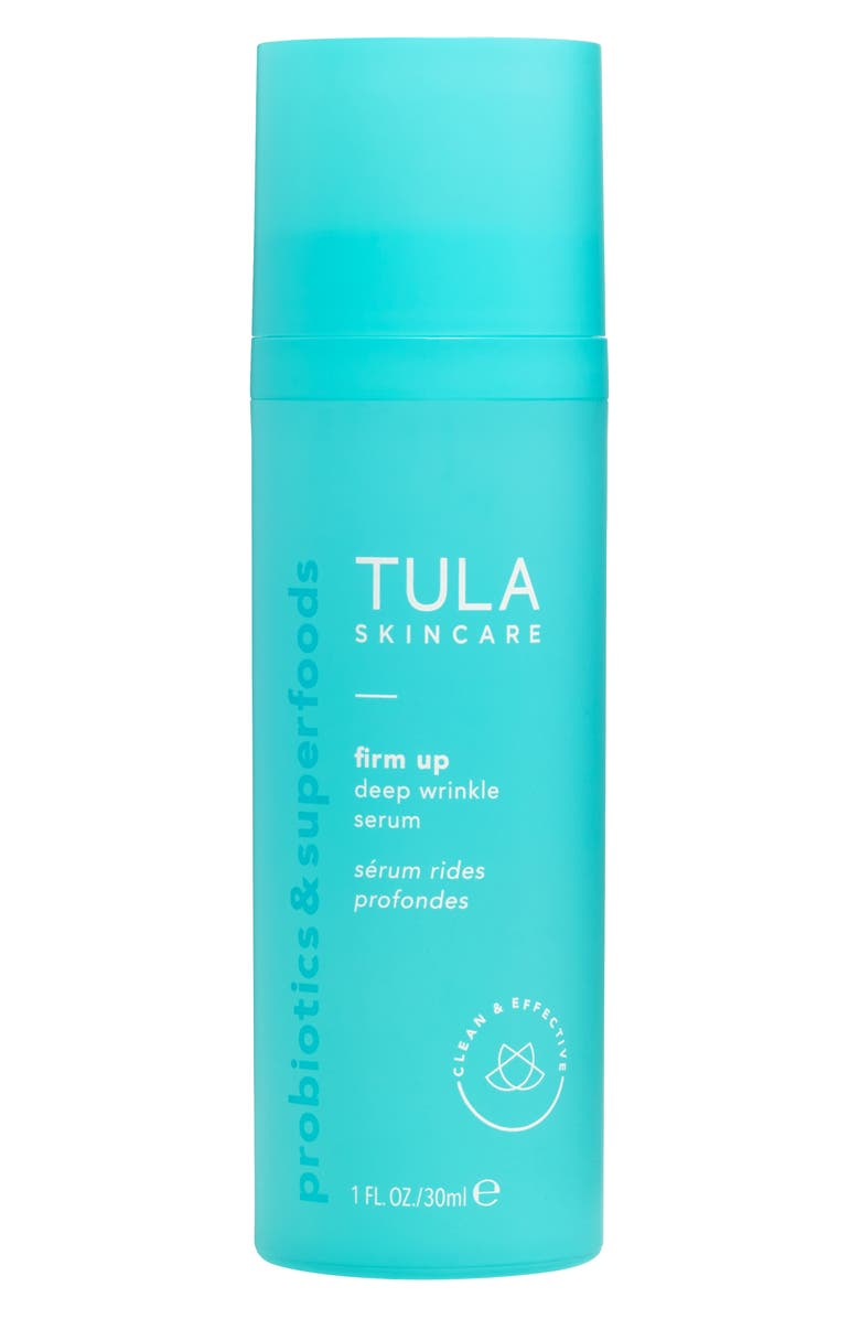 TULA SKINCARE TULA Probiotic Skincare Firm Up Deep Wrinkle Serum, Main, color, 000