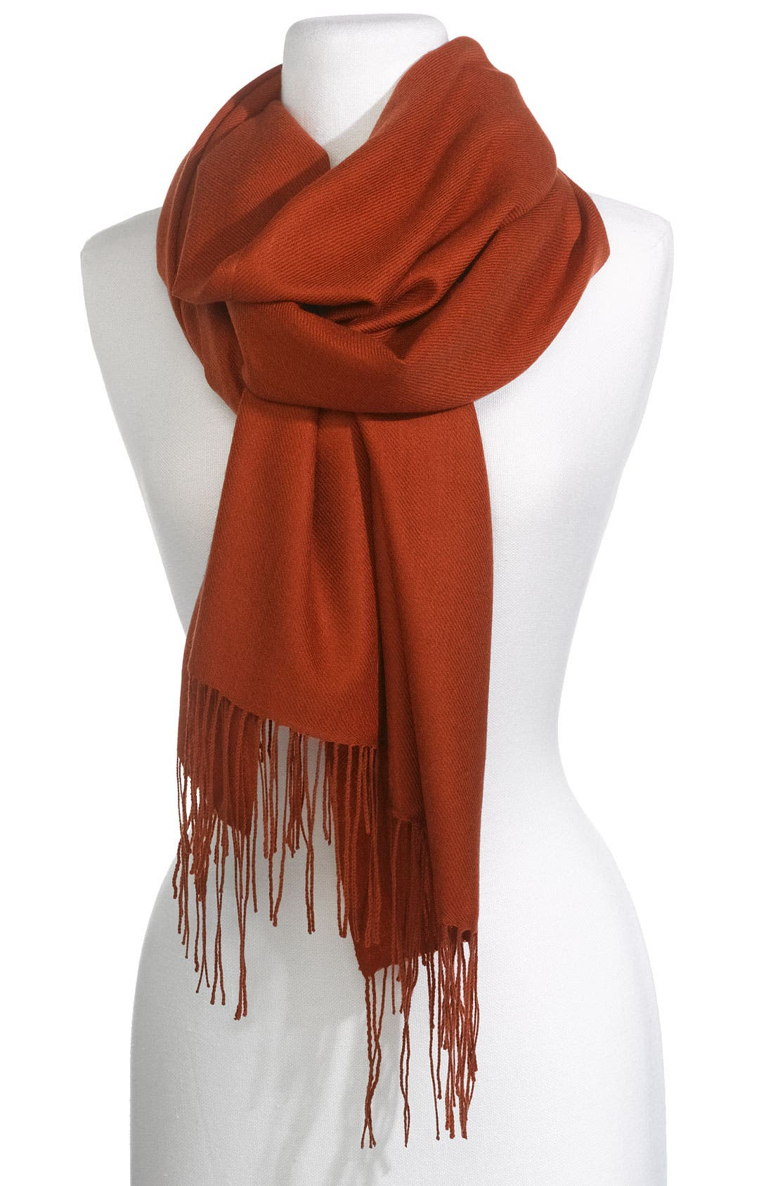 ,                             Tissue Weight Wool & Cashmere Wrap,                             Main thumbnail 205, color,                             801