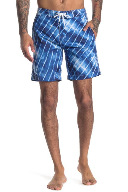 Image of Trunks Surf and Swim CO. Swami Tie-Dye Board Shorts