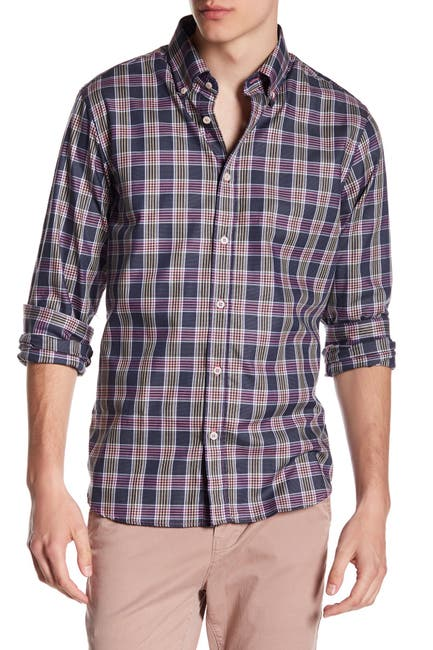 Image of James Tattersall Plaid Classic Fit Shirt