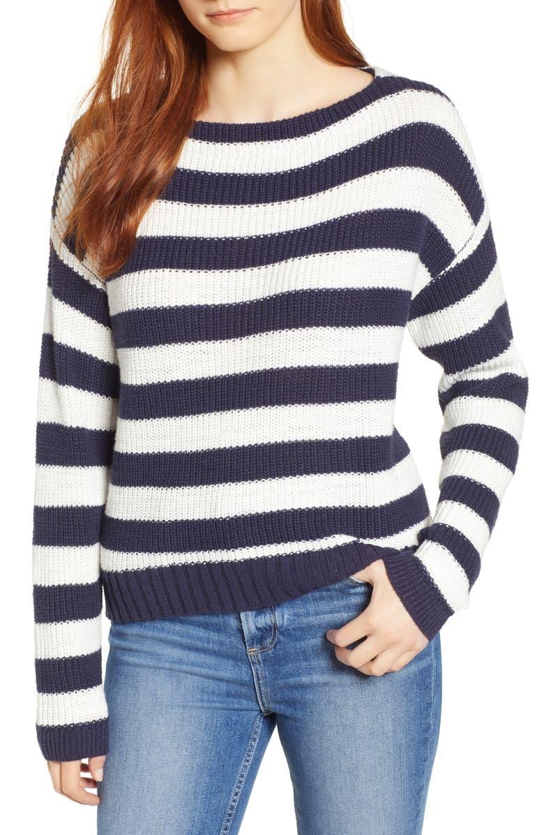 CASLON<SUP>®</SUP> Boat Neck Pullover, Main, color, 410