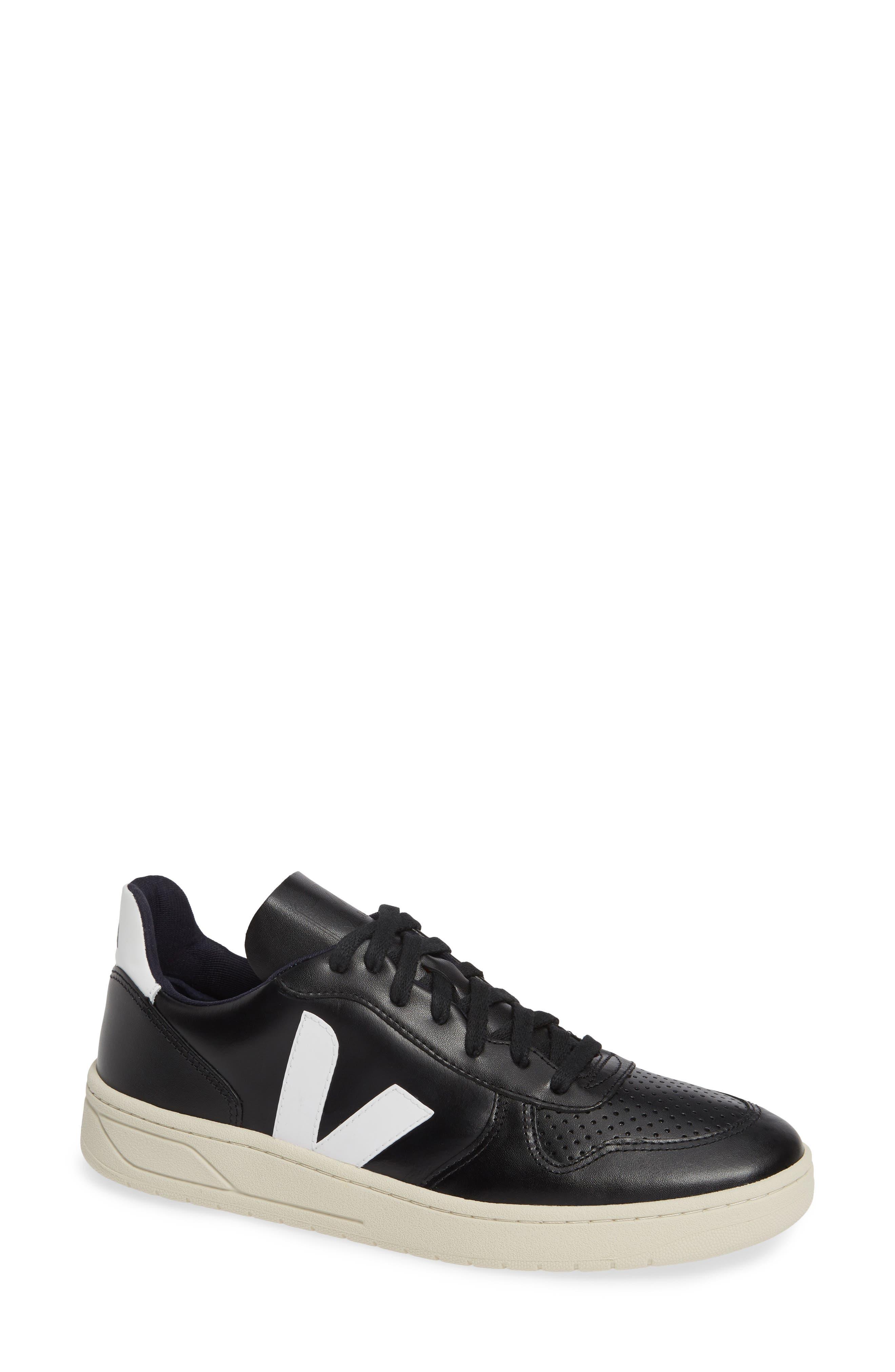 V-10 Sneaker, Main, color, BLACK WHITE