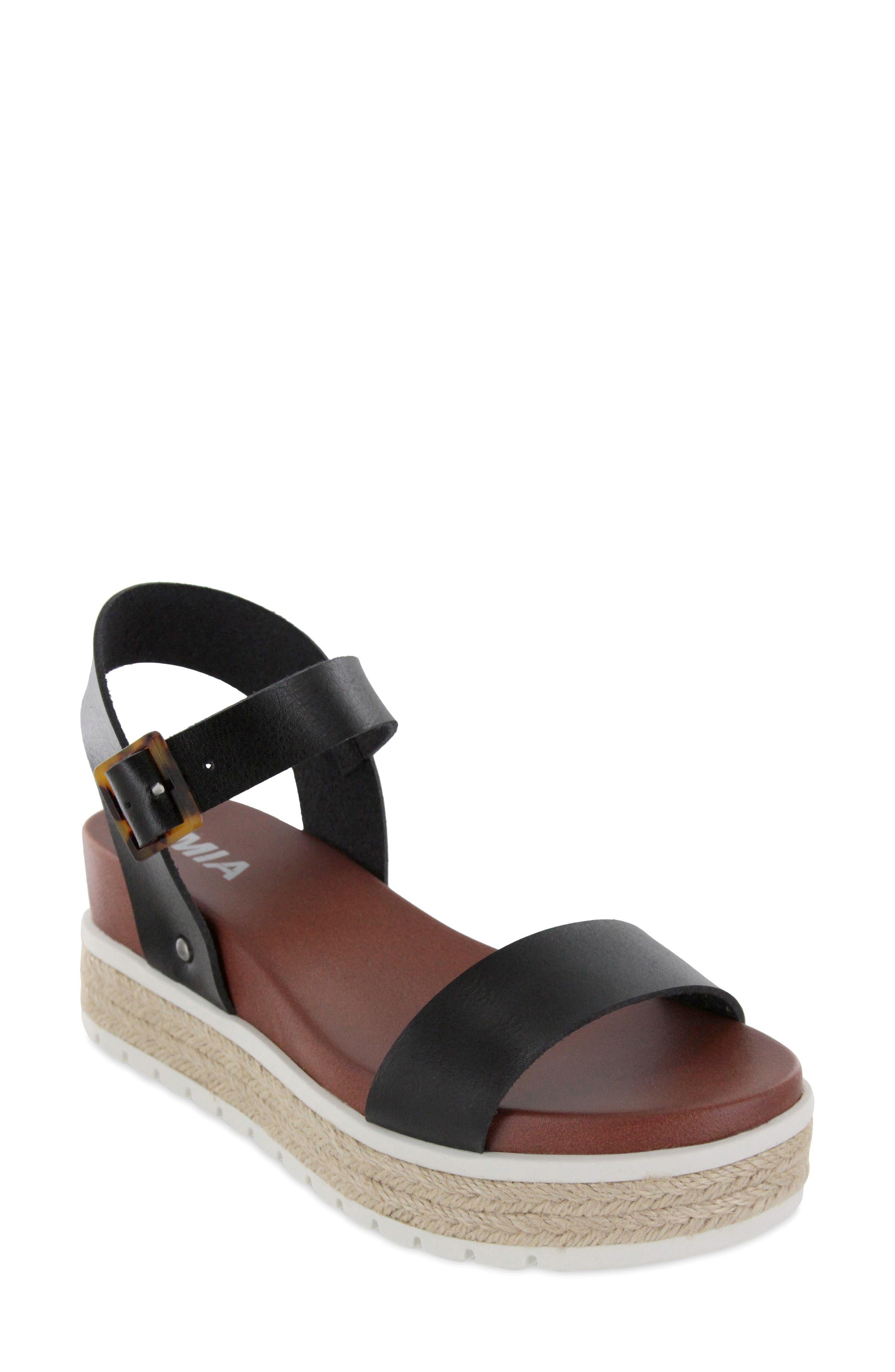 Kiera Espadrille Platform Sandal