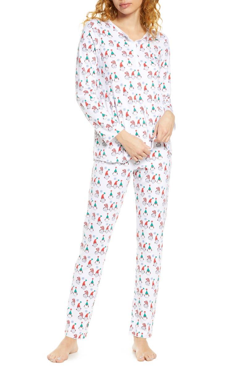 ROLLER RABBIT Gnoels Pajamas, Main, color, 100