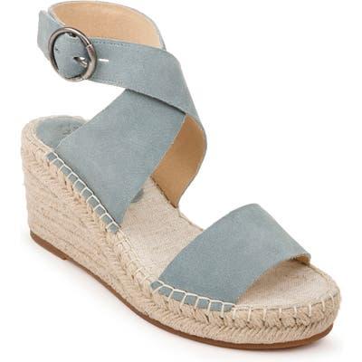 Splendid Addie Wedge Espadrille Sandal, Blue