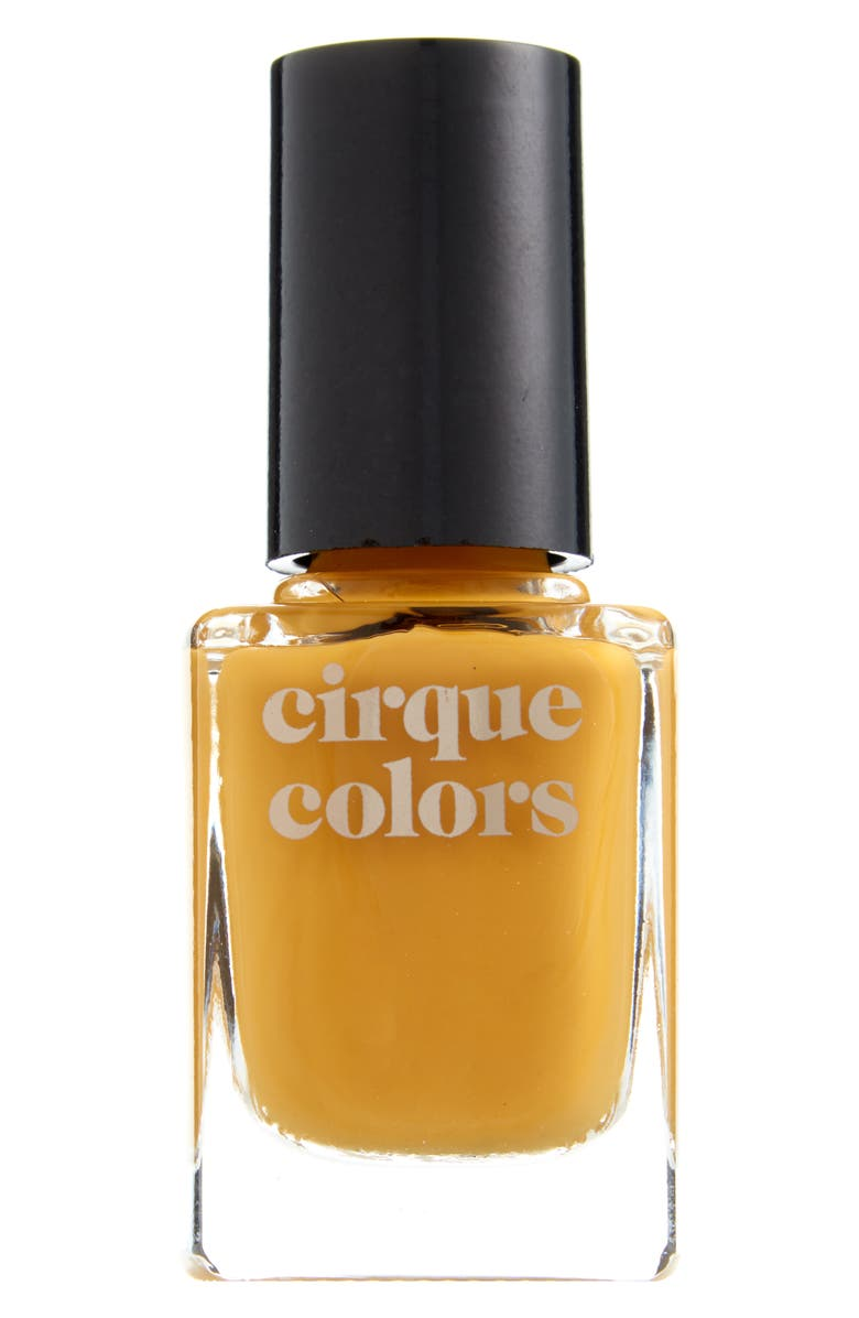 CIRQUE COLORS Urbanized Creme Nail Polish, Main, color, MUSTARD YELLOW