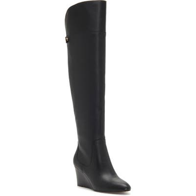 Enzo Angiolini Colitta Over-The-Knee Boot- Black