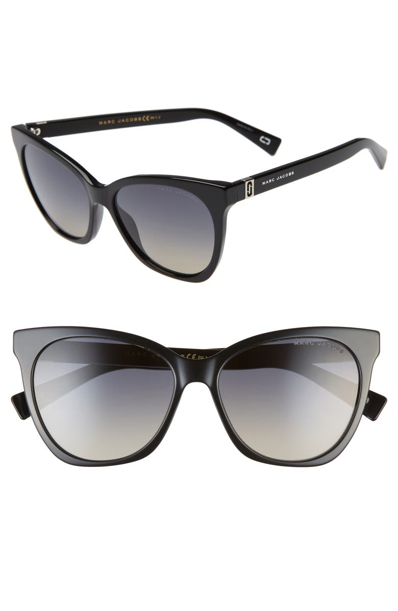 56mm Gradient Cat Eye Sunglasses by Marc Jacobs