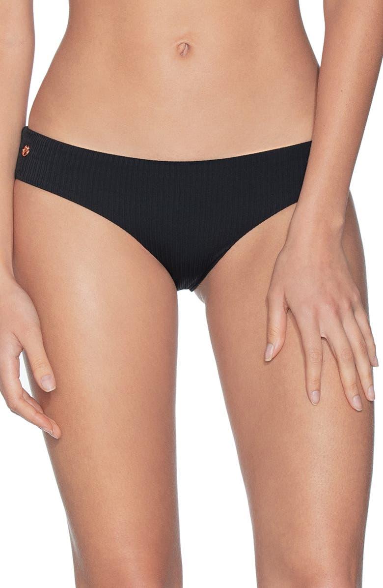 MAAJI Sublime Signature Cut Reversible Bikini Bottoms, Main, color, ARTEMIS BLACK RIB