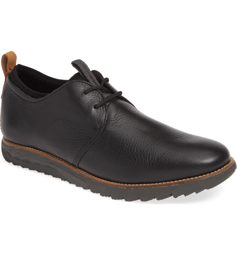 HUSH PUPPIES<SUP>®</SUP> Performance Expert Plain Toe Derby, Main, color, 001