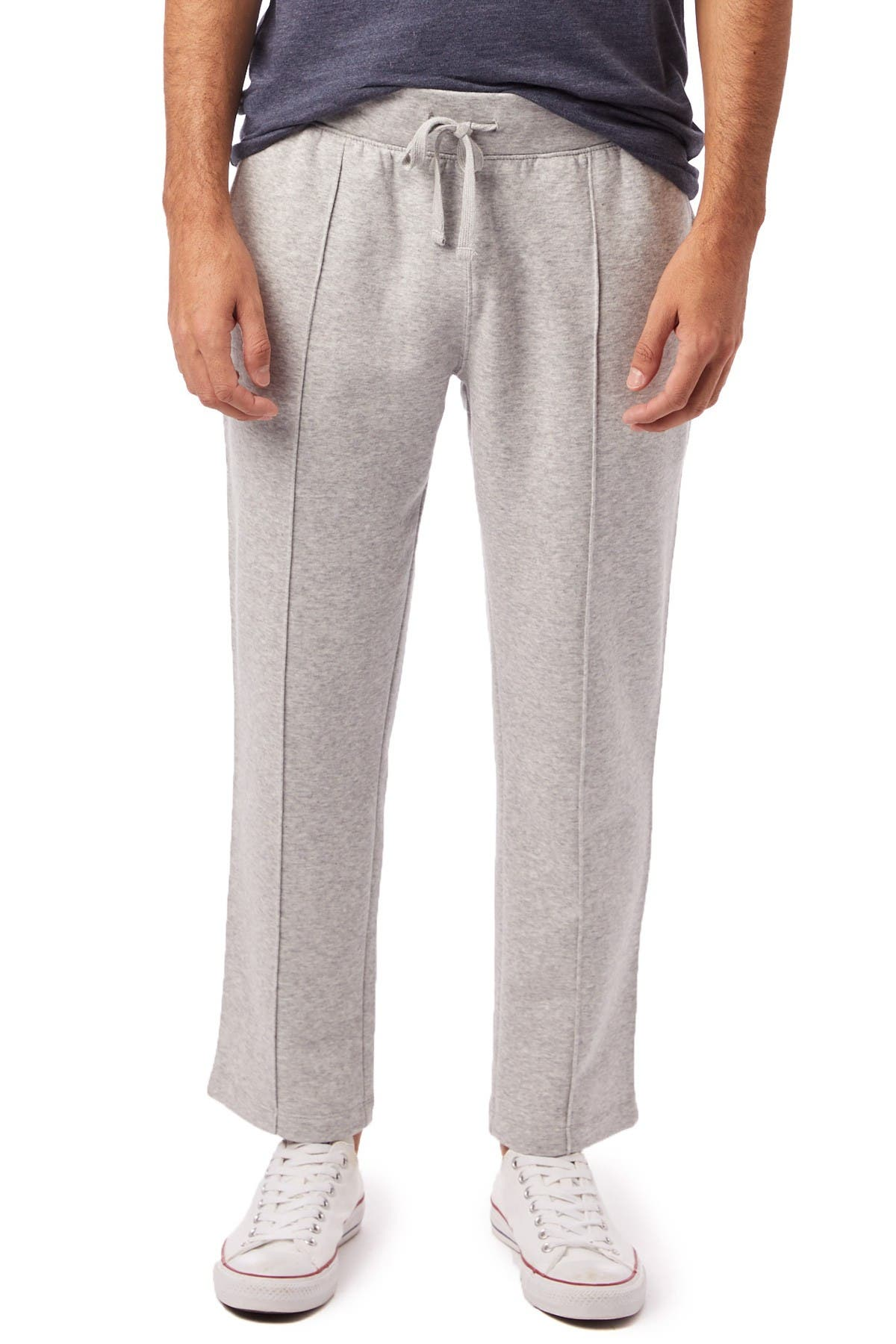Image of Alternative Pintucked Heathered Ankle Pants