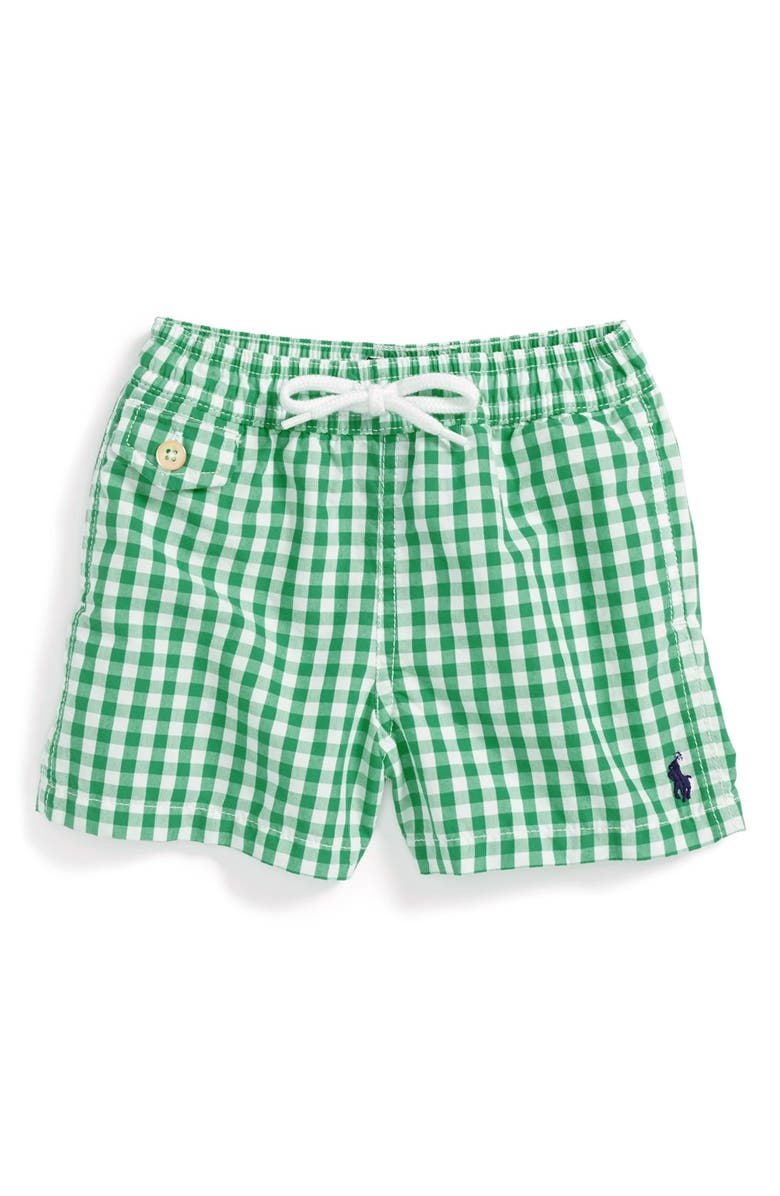 bc57ba74e6f5d Ralph Lauren Swim Trunks (Baby Boys) | Nordstrom