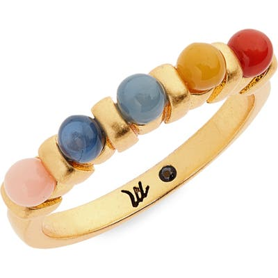 Madewell Acrylic Beaded Ring
