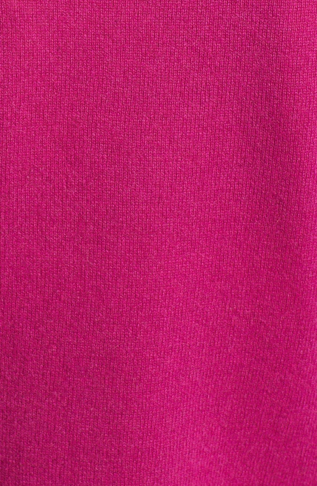 ,                             Cashmere V-Neck Sweater,                             Alternate thumbnail 80, color,                             652