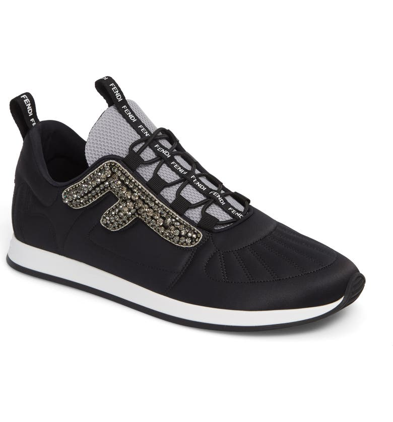new products 49eb4 1bb91 Fendi FFreedom Jewel Embellished Sneaker (Women)   Nordstrom