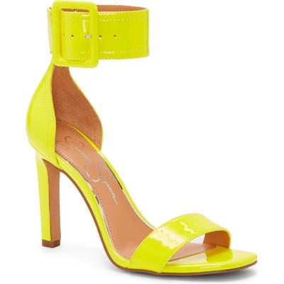 Jessica Simpson Caytie Ankle Strap Sandal- Yellow