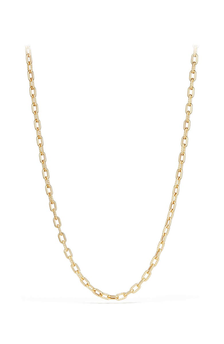 DAVID YURMAN DY Madison Bold Chain Necklace in 18K Gold, Main, color, GOLD
