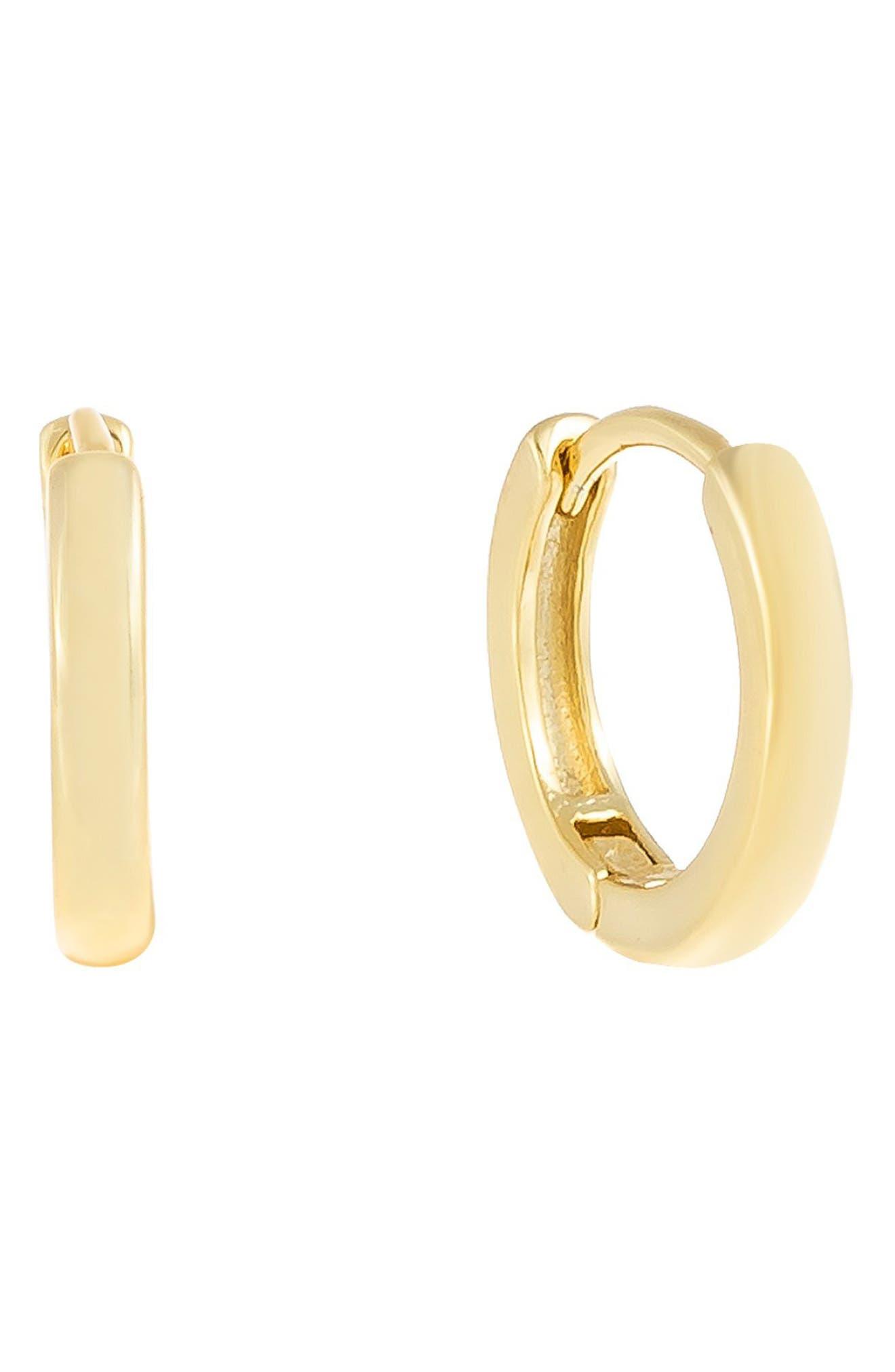 Women's Adina's Jewels Huggie Hoop Earrings