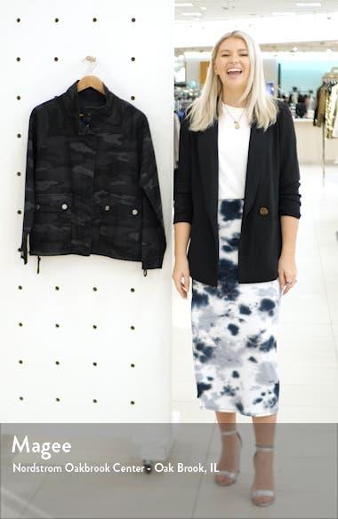 Camo Print Stretch Cotton Jacket, sales video thumbnail