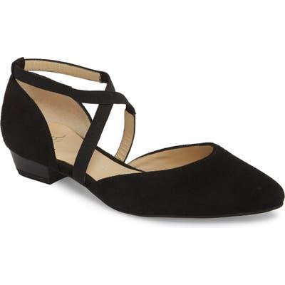 Ara Poppy Low Heel Pump- Black
