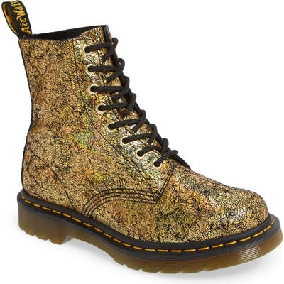 Dr. Martens 1460 Pascal Lace-Up Boot, Metallic