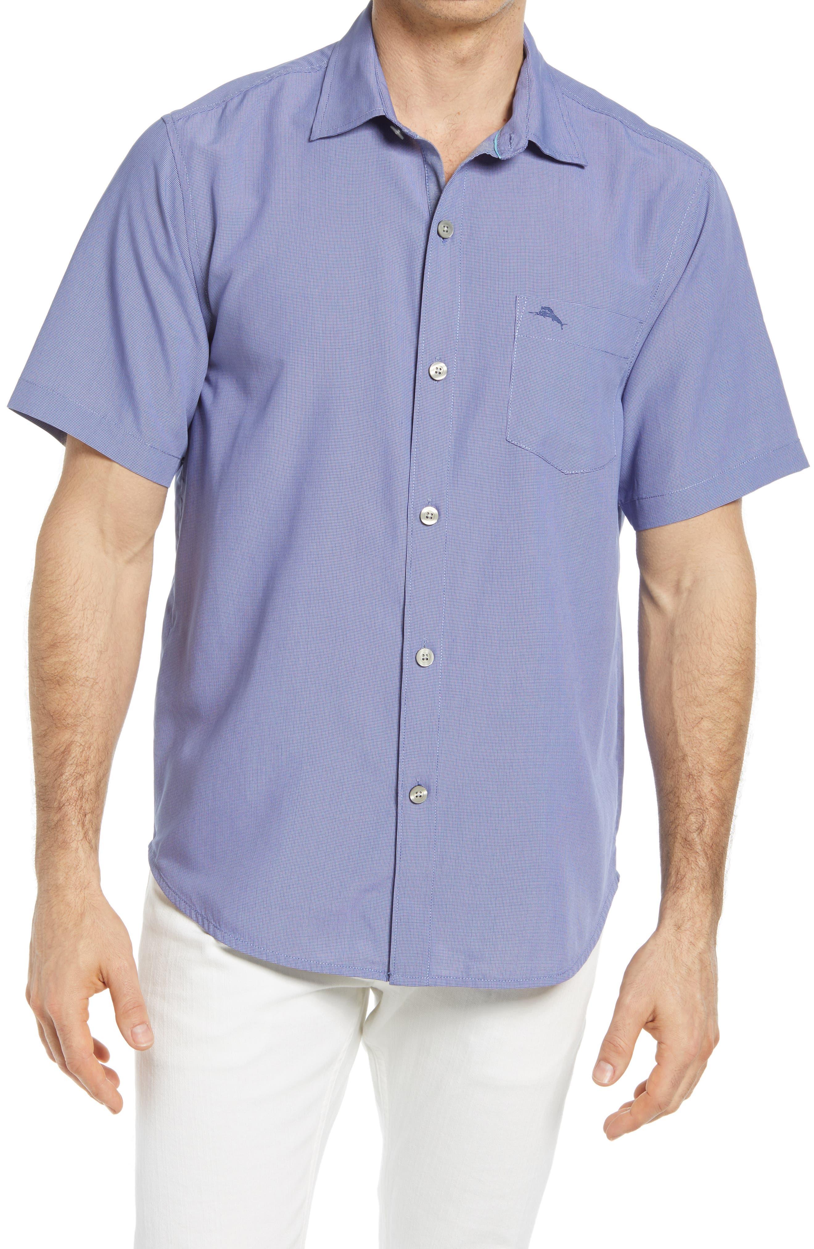 FRAME Mens Long Sleeve Tile Plaid Button Down Shirt Ivory Blue Size Medium