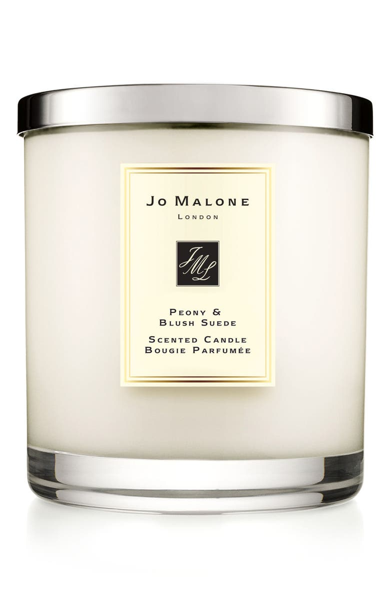JO MALONE LONDON<SUP>™</SUP> Peony & Blush Suede Luxury Scented Candle, Main, color, NO COLOR