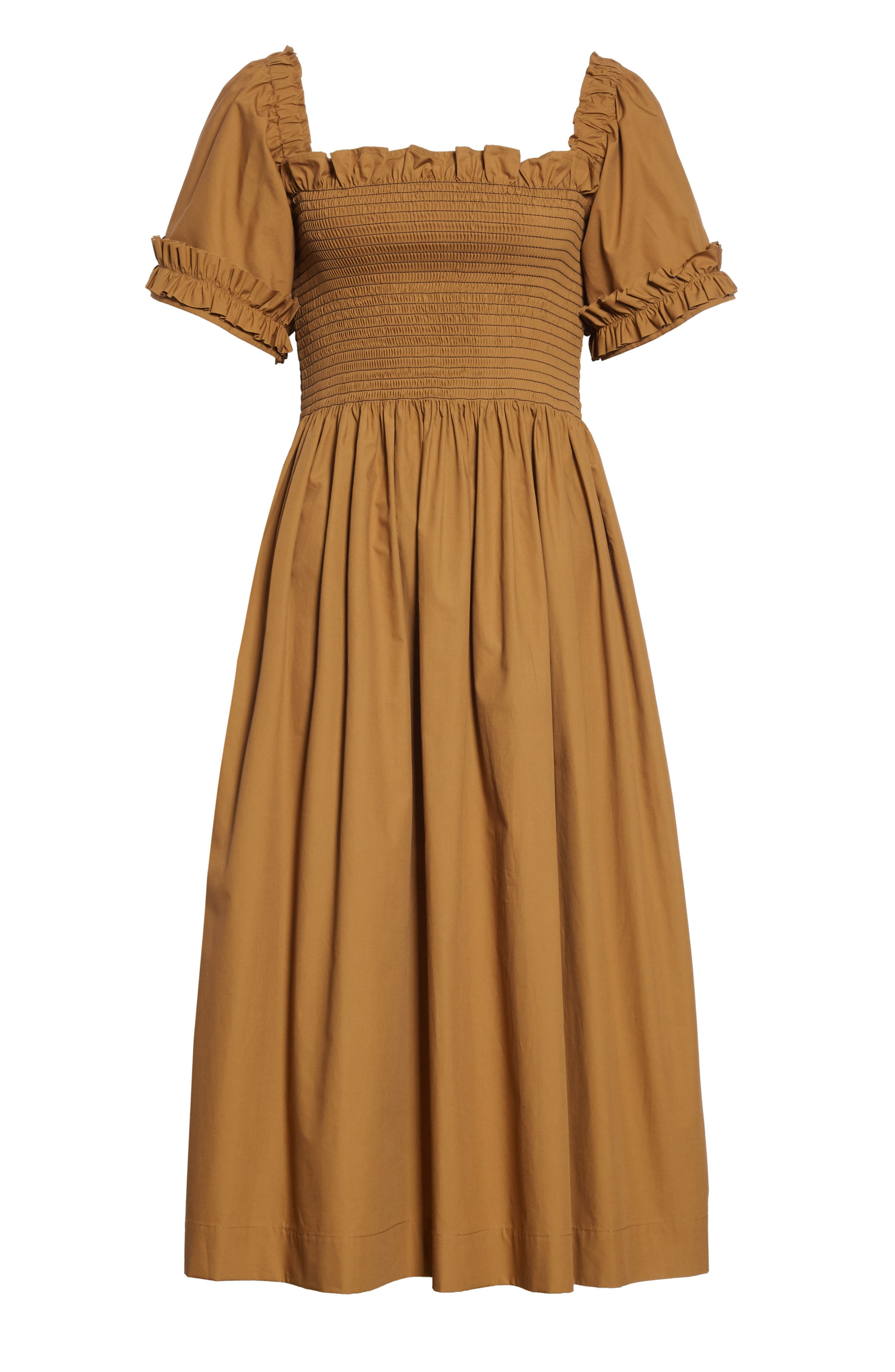 ,                             Adelaide Dress,                             Alternate thumbnail 6, color,                             BROWN