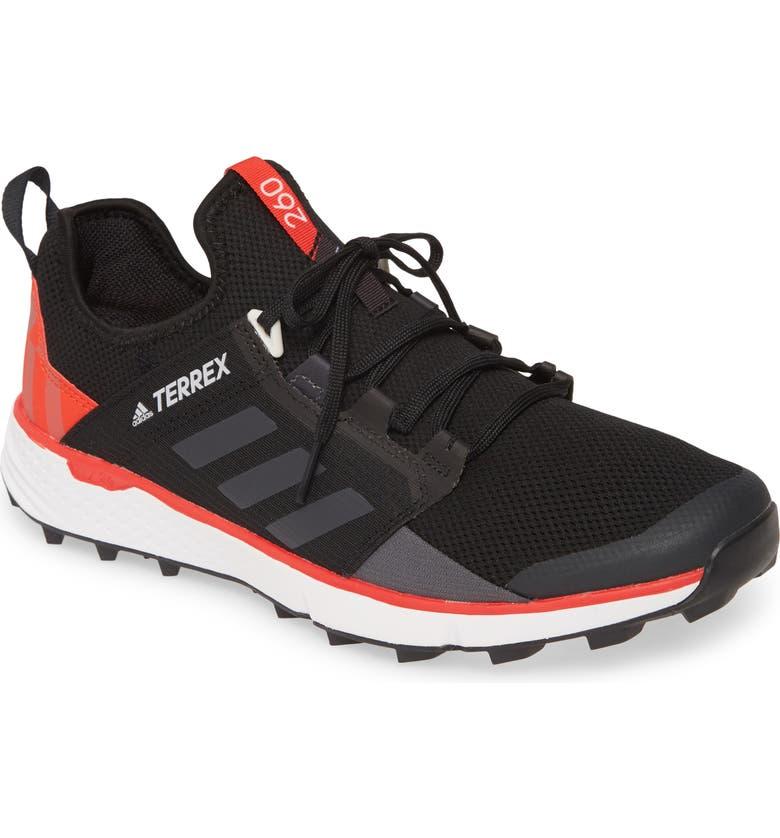 ADIDAS Terrex Speed LD Trail Running Shoe, Main, color, BLACK/ GREY SIX/ GREY ONE