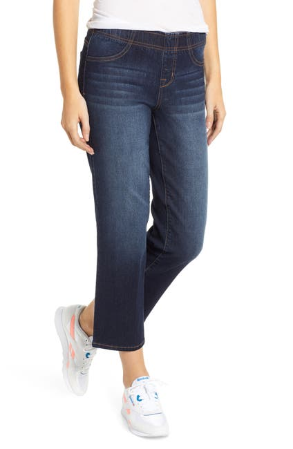 Image of 1822 Denim Cropped Straight Leg Jeans