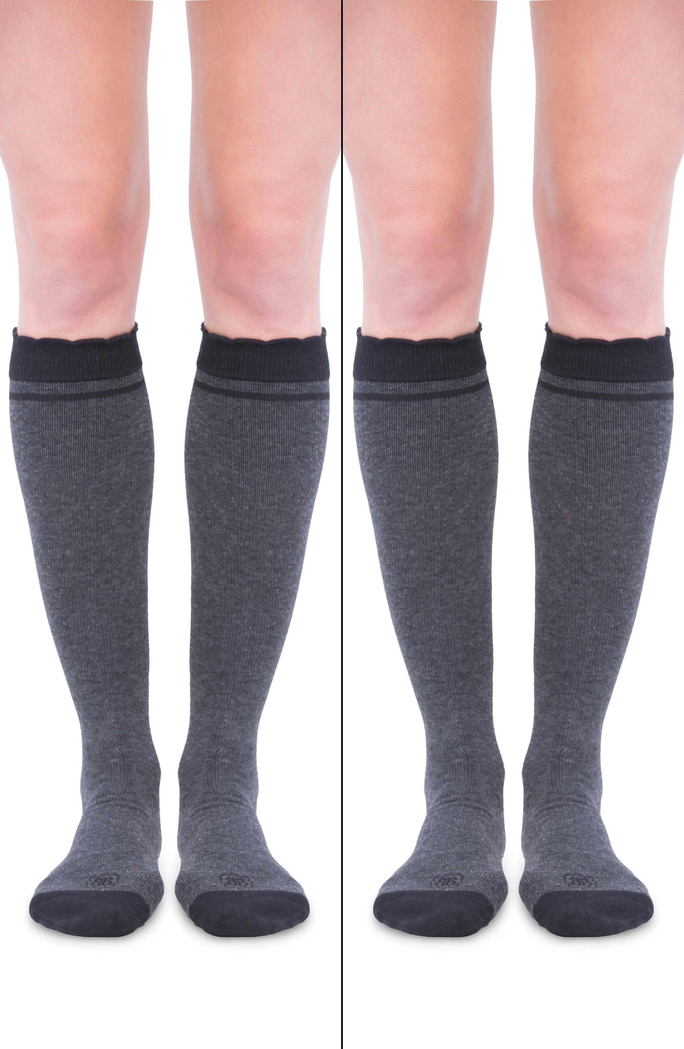 Women's Belly Bandit 2-Pack Compression Socks