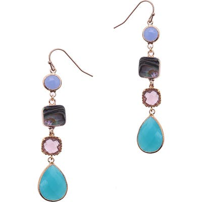 Nakamol Design Crystal Drop Earrings